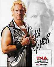 JEFF JARRETT TNA SIGNED AUTOGRAPH 8X10 PROMO PHOTO