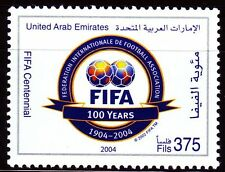 UAE 2004 ** Mi.755 100 Jahre Internationaler Fußballverband FIFA