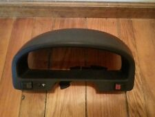 Honda CRX Gauge Cluster Cover w/Defrost, 4 way Buttons & Cluster light switch