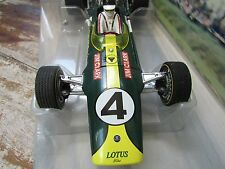 1968 Jim Clark World Champion winning race car #4 African GP  Box 1:18 Lotus 49