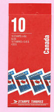 CANADA 1995 Booklet - FLAG Over (Canadian Bank Note) - 10 x 45c.  Complete - MNH