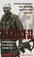 Blackjack-33 Book~14 Deadly Days with the Mobile Guerrilla Force in Vietnam~NEW