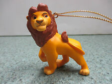 "Lion Storybook ""Replacement"" Christmas tree Hanging Ornament Disney Collectable"