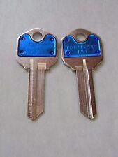 Kwikset KW1 Key Blanks(2) Blue By Hillman
