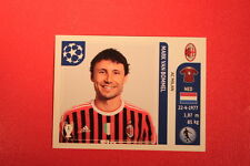 PANINI CHAMPIONS LEAGUE 2011/12 N 509 VAN BOMMEL MILAN WITH BLACK BACK MINT!!