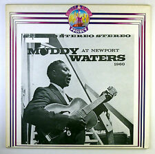 "12"" LP - Muddy Waters - Muddy Waters At Newport 1960 - k6003 - RAR"