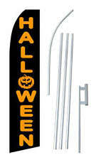 Halloween Tall Flag Swooper Feather Flag Kit with Frame and Ground Spike