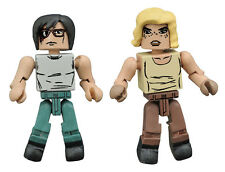 The Walking Dead New Beginning Series 8 Carl & Sophia Minimates 2 Pack