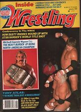 Inside Wrestling January 1985 Dusty Rhodes, Magnum T.A., Tony Atlas VG 012116DBE