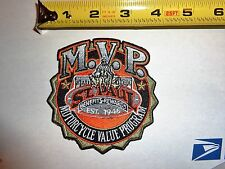 St Paul MN Harley Davidson PATCH Motorcycle Value program Minnesota flhr softail