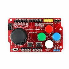 1x Gamepads JoyStick Keypad Shield PS2 For Arduino nRF24L01 Nokia 5110 LCD I2C B