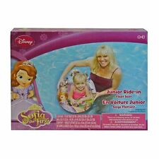 DISNEY PRINCESS SOFIA THE 1ST JUNIOR RIDE IN BABY SWIM RING TUBE POOL FLOAT SEAT