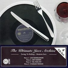 THE ULTIMATE JAZZ ARCHIVE 31 : DONALDSON, FARMER, FARLOW, C. MINGUS / 4 CD-SET