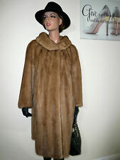 Genuine EMBA Real Mink Fur Coat Jacket Норка Visone Nerz Remodelling 10- 12 - 14