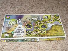Rare Vintage Complete Board Game Whitman Trails To Tremble By 1971 Scarey Spooky