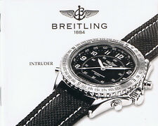 BREITLING INTRUDER ANLEITUNG INSTRUCTIONS I440