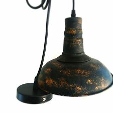 Pendant Light Metal Iron Lamp Vintage Ratro Industrial Ceiling Lighting Hanging
