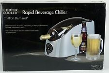 NEW Cooper Cooler Rapid Beverage Wine Beer Soda Chiller