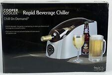 NEW Cooper Cooler Rapid Beverage Wine Beer Soda Chiller