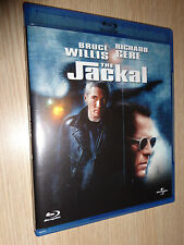 BLU-RAY THE JACKAL BRUCE WILLIS RICHARD GERE