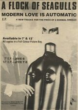 21/11/81PGN13 ADVERT: A FLOCK OF SEAGULLS SINGLE MODERN LOVE IS AUTOMATIC
