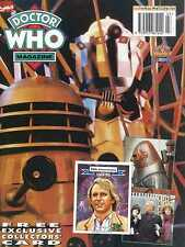 DOCTOR WHO MAGAZINE #208 FREE 30TH ANNIVERSARY COLLECTORS CARD SECOND DOCTOR