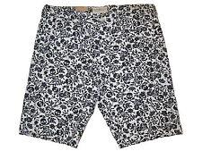 Ralph Lauren Denim and Supply Black White Skull Crossbones Chino Polo Shorts 34