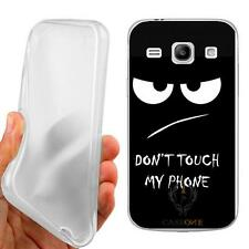 CUSTODIA COVER CASE TPU DON'T TOUCH PER SAMSUNG GALAXY CORE PLUS G350
