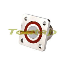 N panel mount with O-ring Jack bulkhead straight RF connector for fiber-glass