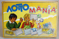 VERY RARE VINTAGE 90'S LOTTO MANIA BOARD GAME ADELKO TOYS GREEK NEW MISB !