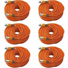 6orange 100 ft foot XLR male to female mic cable powered speaker cord 30 m meter