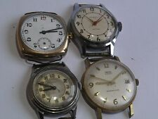 4 x Mechanical Rare Vintage Gents Watches - Movado, Smiths, Ingersoll, Unnamed