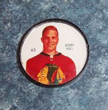 Shirriff coins Hockey 1960-61 # 63 Bobby Hull Chicago Blackhawks   lot # Feb 2