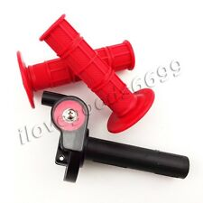 1/4 Turn Twist Throttle Hand Grips For 50cc-250cc Pit Dirt Bike Mini Motocross