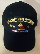 3RD ARMORED DIVISION WWII Military Ball Cap