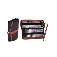Heartybay Pencil Wrap,72 Pencils Holder Canvas Colored Pencils Case by heartybay