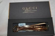 """GUCCI - """"Made to Measure"""" - Shoe Horn in box"""