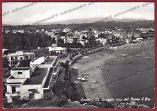 LATINA MINTURNO 05 SCAURI - SPIAGGIA BAGNI Cartolina FOTOGRAFICA viaggiata 1966