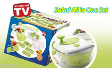 9 in 1 Salad Maker Salad All in One Set Grater Slicer Julienne Shredder Cutter