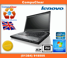 "IBM LENOVO THINKPAD T430 14"" LAPTOP CORE i5 2.6GHz 4GB RAM 1TB HDD WIN 7 PRO"