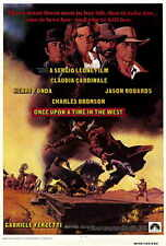 ONCE UPON A TIME IN THE WEST Movie POSTER 27x40 Henry Fonda Jason Robards Jr.