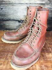 Red Wing Irish Setter Vintage 1980s Old Tag Sports Boot Crepe Sole 13D