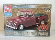 AMT Ertl 1955 Chevy Stepside Pickup 1/25 Scale Model Kit Plus Packs SEALED (Q7)