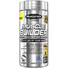 MuscleTech Pro Series Muscle Builder Rapid-Release Dietary Supplement, 30 count