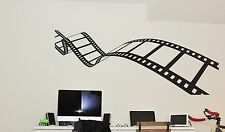 Wall Decal Vinyl Sticker Bedroom Movie Action Film Reel of Film Decor bo2590