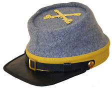 American Civil War Confederate Cavalry Style Kepi With Badge Medium 56/57cms