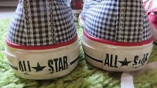 Check Bianco e Navy Converse UK4 EU 36.5