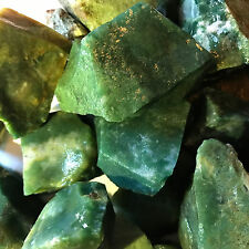 1000 Carat Lots of Green Jasper Rough + a FREE Faceted Gemstone