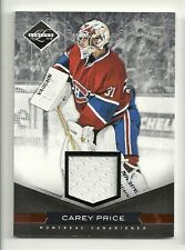 2011-12 Panini LIMITED Game Used Jersey #177 CAREY PRCE  Serial # 2 of 99