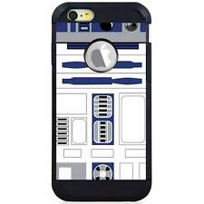 Apple iPod Touch 5/6 5th/6th Gen. Hybrid Case Cover Star Wars R2D2 Logo